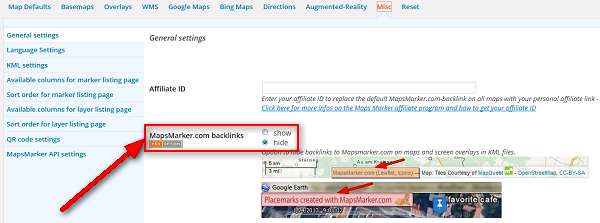 backlinks-settings