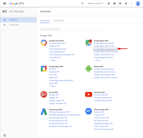 google-javascript-api