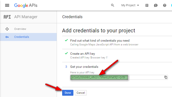 google-js-key-finished