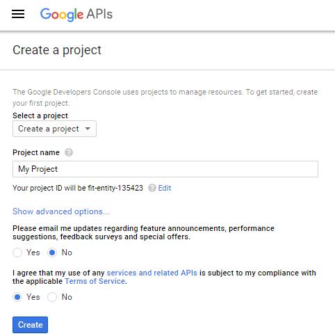 google-project-details