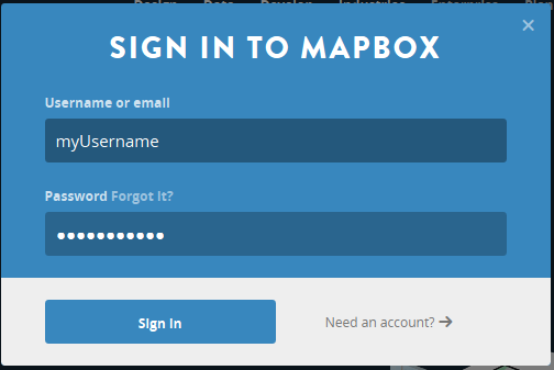 mapbox-signin