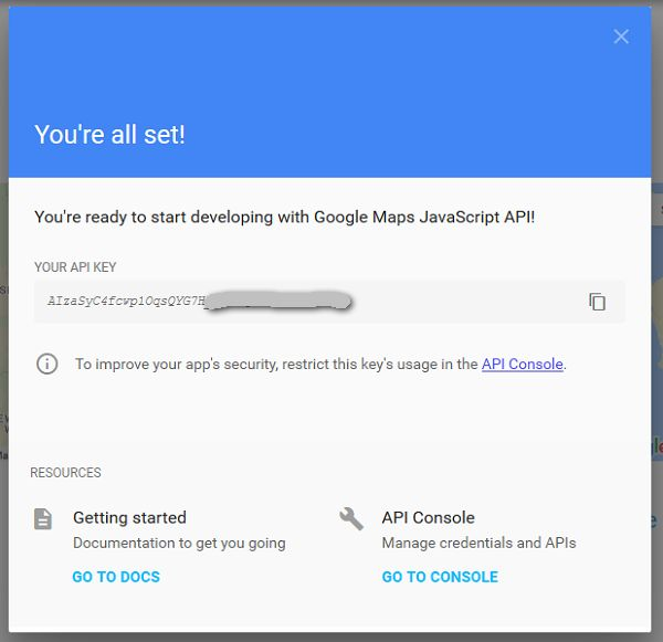 How To Register A Google Maps Api Key Maps Marker Pro