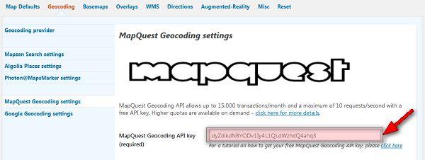 mapquest-geocoding-key-save