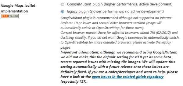 Pro v3 0 supporting leaflet js v1 0 3, GoogleMutant, Polylang
