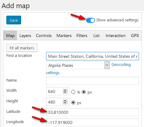 How to optimize geocoding settings for more targeted search