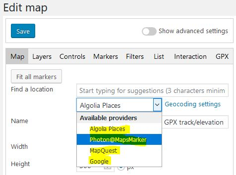 Support / Knowledge Base » Maps Marker Pro