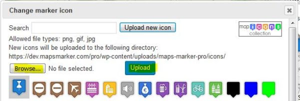 How to add custom map icons » Maps Marker Pro