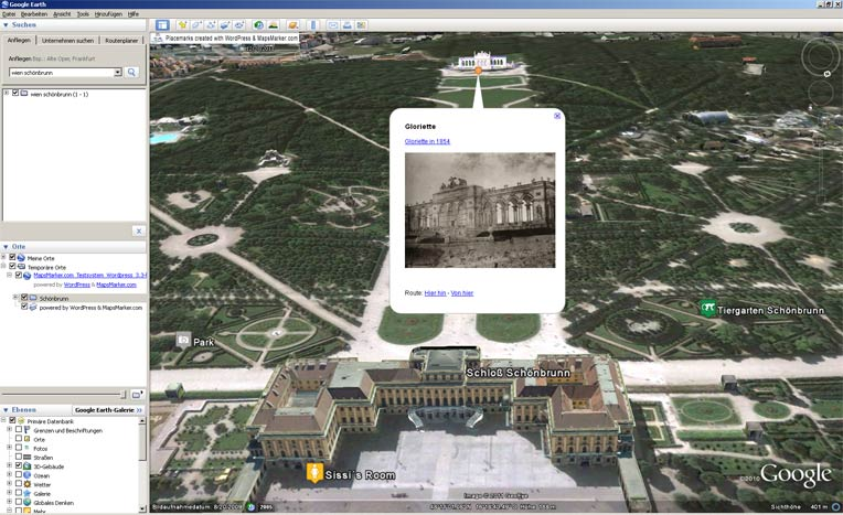 How to use KML to export markers/layers to Google Earth or